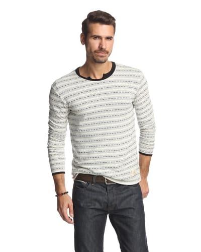 Kinetix Men's Montreal Striped Long Sleeve Shirt