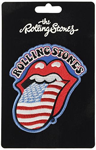 The Rolling Stones USA Tongue Iron Sew On Clothing Badge Patch Decal Official