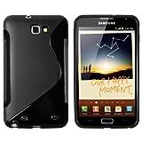 "mumbi TPU Silikon Schutzh�lle f�r Samsung Galaxy Note N7000 schwarzvon ""mumbi"""