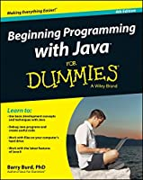 Beginning Programming with Java For Dummies, 4th Edition Front Cover