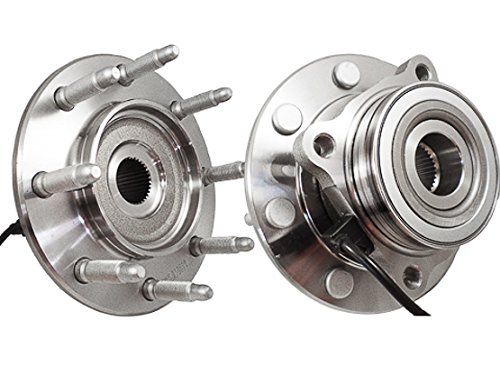 C515058X2 [2] FRONT Premium Grade [ 8 Lug 4WD ABS ] Wheel Hub Bearing Assemblies (Tahoe Ltz Wheels compare prices)