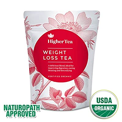 Higher Tea Organic 14 Day Body Teatox Weight Loss Tea, 3-Ounce