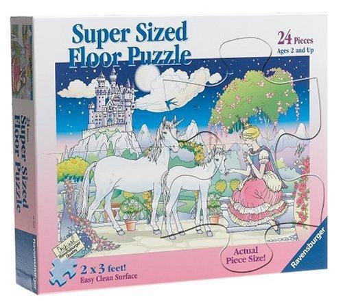 Cheap Fun Ravensburger 24 Piece Super Sized Floor Puzzle – Fairy Princess (B0006G2OZW)