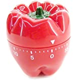 Novel kitchen timer - Red Pepper design