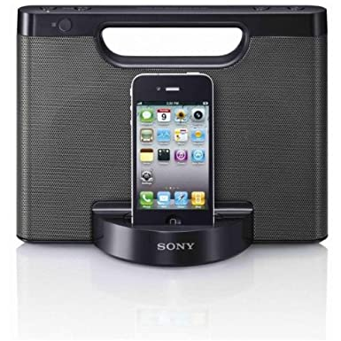 Sony Lautsprecher iPhone iPod