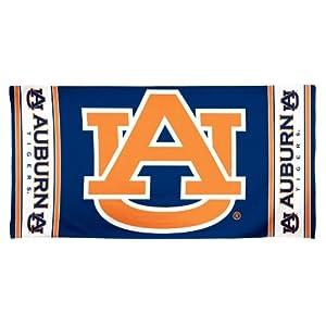 Buy NCAA Auburn Tigers 30 by 60 Fiber Reactive Beach Towel by WinCraft