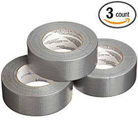 Intertape 5038-3 PK Fix-It DUCTape 1.87-Inches x 60-Yards, 7-Mil, 3-Pack