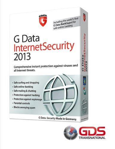 G Data Internet Security 2013 3pc,1yr * ESD *