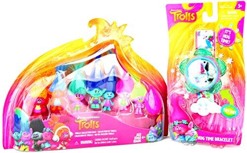 Dreamworks-Trolls-Collection-Pack-and-Trolls-Hug-Time-Bracelet-Bundle