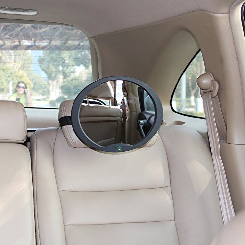 Logiclux Rear View Facing Back Seat Baby Mirror No