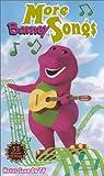 Barney - More Barney Songs (Clamshell) [VHS]