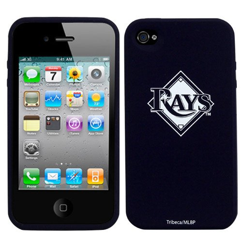 Tampa Bay Rays Iphone 4 and 4S Silicone Cover Case Skins