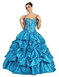 US Fairytailes Ball Gown Strapless Formal Prom Wedding Dress #2744