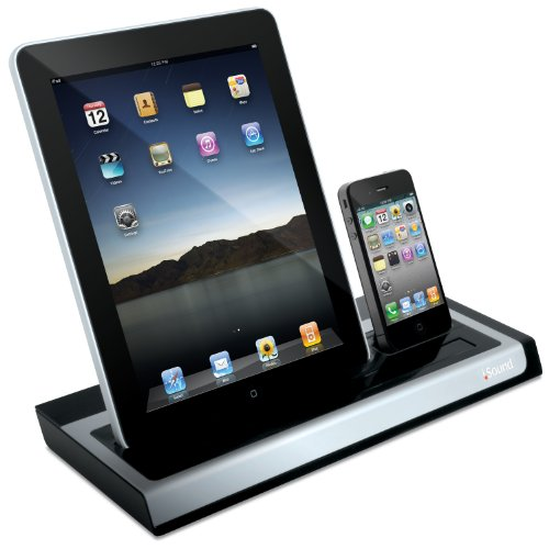 i sound isound 4531 power view pro charging dock for ipad ipad 2 iphones and ipods ipad dock. Black Bedroom Furniture Sets. Home Design Ideas