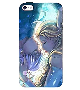PRINTSWAG COUPLE Designer Back Cover Case for APPLE IPHONE 4