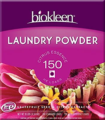 Biokleen Citrus Laundry Powder, 10-Lb. Boxes