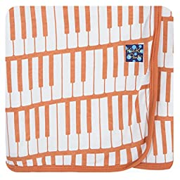 KicKee Pants Swaddling Blanket Copper Piano Keys