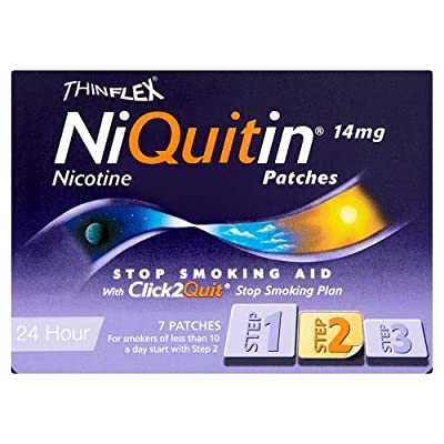 Niquitin CQ Patches 14mg Original - Step 2 - 7 Patches from Niquitin
