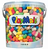 PlayMais Modelling Material Bucket (1000 Pieces)
