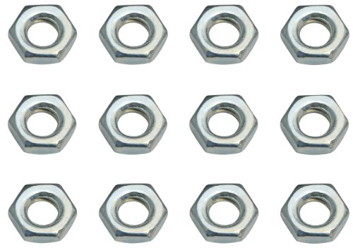 Team Associated 7260 4-40 Small Pattern Plain Nuts (12) - 1