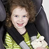 Diono Soft Wraps Car Seat Harness Pads (Formerly Sunshine Kids) - Black