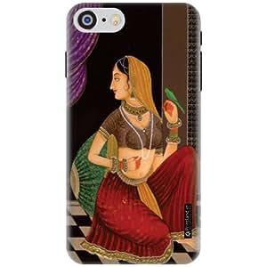 Printland Designer Back Cover for Apple iPhone 7 - Women Art Cases Cover