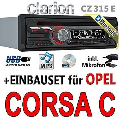 Opel corsa c-clarion cZ315E-avec kit de montage