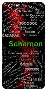 Sahaman (Victorious) Name & Sign Printed All over customize & Personalized!! Protective back cover for your Smart Phone : Samsung Galaxy S5 / G900I