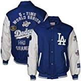 Los Angeles Dodgers 5-Time World Series Championship Leather Jacket (Limited Edition) at Amazon.com