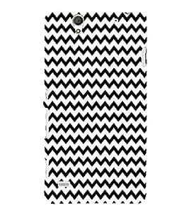 ifasho Designer Phone Back Case Cover Sony Xperia C4 Dual :: Sony Xperia C4 Dual E5333 E5343 E5363 ( Light Brown Colorful Pattern Design )