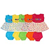 #9: Feel Trendy Cotton Frock for Baby Girls(Pack of 5)