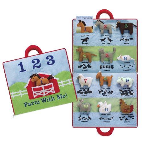 "North American Bear 17"" X 18.5"" Farm Animal Activity Mat"