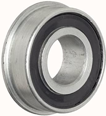 "RBC Heim Ball Bearing  RF102214PP  Flanged, Double Sealed, 0.625"" Bore, 1.375"" OD, 0.438"" Width"