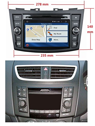 radio for suzuki swift. Black Bedroom Furniture Sets. Home Design Ideas