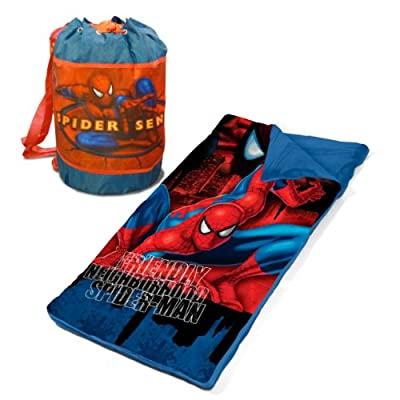 Marvel Spiderman Slumber Bag Set by Marvel
