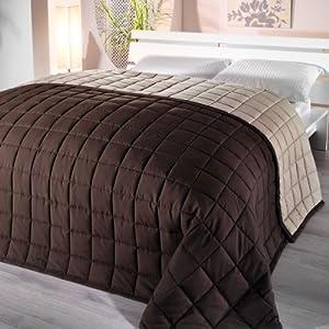 bettwaren shop wende tagesdecke rimini farbe braun. Black Bedroom Furniture Sets. Home Design Ideas