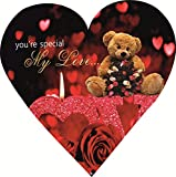 Skylofts Cute 5pc Chocolate Valentines Love Heart Gift Box