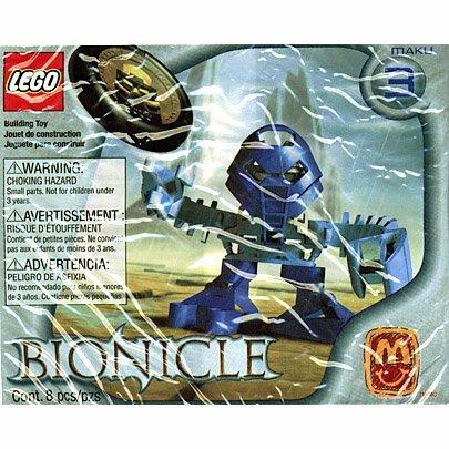Maku 1390 - Lego McDonalds 2002 Euro Bionicle Tohunga Matoran - 1