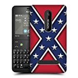 Head Case Rebel Flag Redneck Protective Pride Back Case Cover For Nokia Asha 210