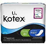 Kotex Long Super Maxi Pads, 22 ct