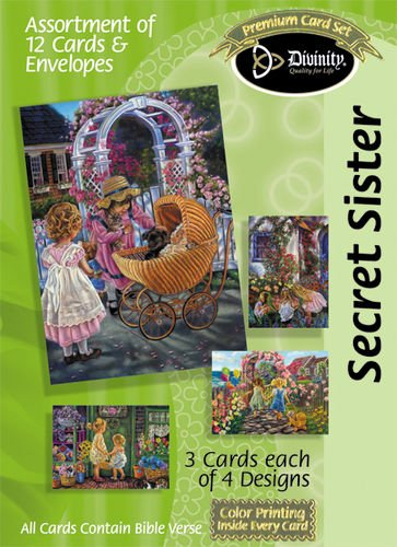 Divinity Boutique Greeting Card Assortment: Secret Sisters- Girls (18020N) PDF