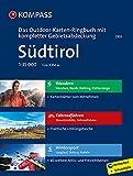 Südtirol - Das KOMPASS-Outdoor-Karten Ringbuch mit kompletter Gebietsabdeckung