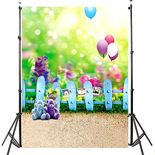 Mohoo 3x5ft Vinyl Photo Studio Props Backdrops Baby Children Theme Photo Photography Background (Photography Props For Kids compare prices)