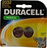 Duracell Button Batty Lithm 3V DL2032 Pack of 2
