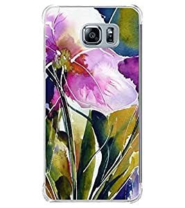 Flowers Painting 2D Hard Polycarbonate Designer Back Case Cover for Samsung Galaxy Note5 :: Samsung Galaxy Note5 N920G :: Samsung Galaxy Note5 N920T N920A N920I