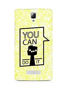 Amez You can Do It! Back Cover For Lenovo A2010