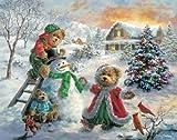 White Mountain Puzzles Winter Merriment