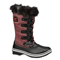Big Sale Best Cheap Deals Sorel Womens Tofino Nylon Chili/Black Synthetic Boots 7.5