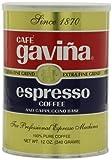 Gavina Espresso Ground Coffee, 12 Ounce