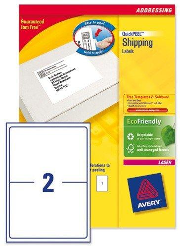 Avery-L7168-250-Bateau Blockout Étiquettes 200x 143mm L7168-250(500étiquettes)
